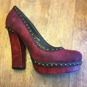 Not Rated Block Heel
